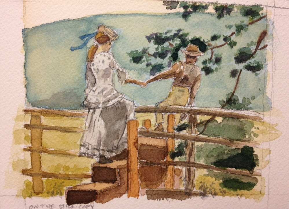 Learning from Winslow Homer: On the Stile