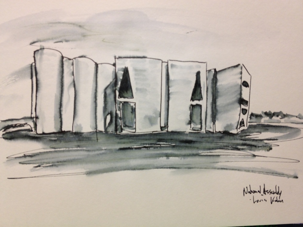 Sketching to Think About Louis Kahn (2/2)